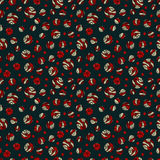 Seamless pattern with ornament Stock Photo