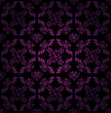 Seamless pattern, ornament lilac fl Royalty Free Stock Images