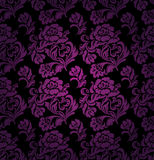 Seamless pattern, ornament lilac floral Royalty Free Stock Images