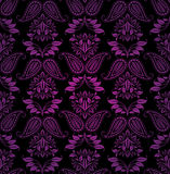 Seamless pattern, ornament lilac floral, decorative Royalty Free Stock Photography