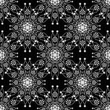 Seamless pattern ornament with stylized geometric background.  Royalty Free Stock Photo