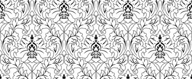 Seamless Pattern Ornament Wallpaper Background Repetition Stock Photos