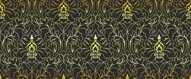 Seamless Pattern Ornament Wallpaper Background Repetition Royalty Free Stock Images