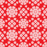 Seamless pattern. Ornamental abstract Background  in red Royalty Free Stock Images