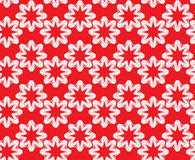 Seamless pattern. Ornamental abstract Background. In red and white colors color Stock Photo