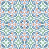 Seamless pattern with ornamental oriental arabesque Royalty Free Stock Image