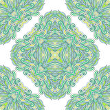 Seamless pattern with ornamental rectangles Royalty Free Stock Photography