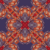 Seamless pattern with ornamental rectangles Stock Image