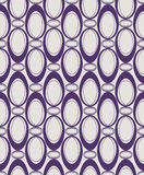 Seamless pattern with ovals Stock Photos