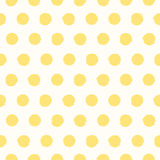 Seamless pattern with painted polka dot texture Royalty Free Stock Images