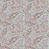 Seamless pattern of paisley. Royalty Free Stock Photos