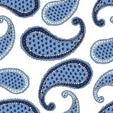 Seamless pattern. Paisley Stock Photos