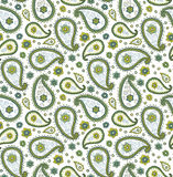 Seamless pattern with Paisley Royalty Free Stock Photo