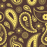 Seamless pattern. Paisley Stock Photo