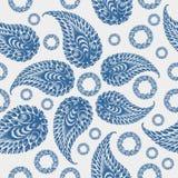 Seamless pattern paisley Stock Image