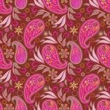 Seamless pattern with paisley . Stock Photos