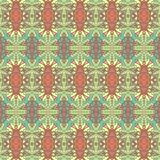 Seamless pattern for paisley. Royalty Free Stock Photos