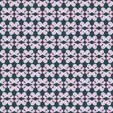 Seamless pattern of pale pink petals on a dark background Stock Photography