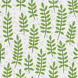 Seamless pattern with palm leaves. Seamless pattern with big green palm leaves Royalty Free Stock Photo