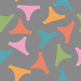 Seamless pattern panties woman Royalty Free Stock Photos
