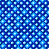 Seamless pattern from paper rhombus on a blue background Stock Photos