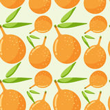 Seamless  pattern with passion fruit Stock Images
