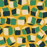 Seamless pattern - pastel bricks Royalty Free Stock Image