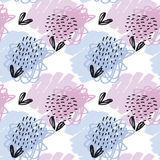 Seamless pattern pastel color wallpaper. v Stock Images