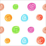 Seamless pattern of  pastel dots Royalty Free Stock Image