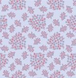 Seamless pattern with pastel flowers Stock Photography