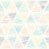 Seamless pattern - pastel triangles Royalty Free Stock Images