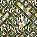 Seamless pattern patterned Royalty Free Stock Photography