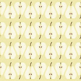 Seamless pattern with pears Stock Image