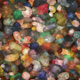 Seamless pattern pebbly stones. Vector, EPS10. Stock Photos