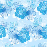 Seamless pattern with peony Royalty Free Stock Photography