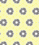 Seamless pattern perforation Royalty Free Stock Photography