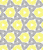 Seamless pattern perforation Stock Photos