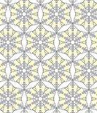 Seamless pattern perforation Stock Photo
