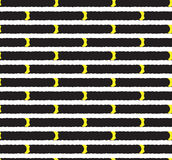 Seamless pattern perforation Royalty Free Stock Images