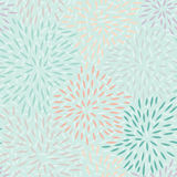 Seamless Pattern with Petals Stock Images