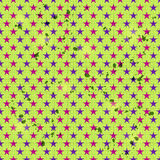 Seamless Pattern with Pink and Blue Star Elements Royalty Free Stock Photography