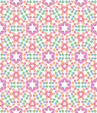 Seamless pattern with pink candy Royalty Free Stock Photography