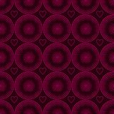 Seamless Pattern. Of pink circles halfton. 10 eps Royalty Free Stock Images
