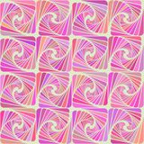Seamless pattern in pink colors of the petals spirally twisted. Decorative seamless pattern spirally twisted petals in shades of pink on a beige background Royalty Free Stock Images