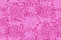 Seamless pattern with pink element of guilloche Royalty Free Stock Photos