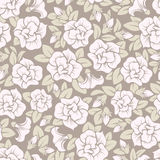 Seamless pattern with pink flowers. Stock Photography