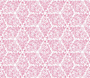 Seamless pattern with pink ornaments Stock Photos