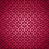 Seamless Pattern Pink Roses Stock Photos