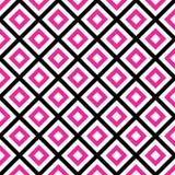 Seamless Pattern Pink Square, EPS 10 stock illustration