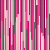 Seamless pattern pink vintage striped geometric Stock Image